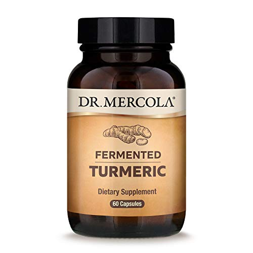 Dr Mercola Fermented Turmeric, 30 Day Supply, 60 Capsules