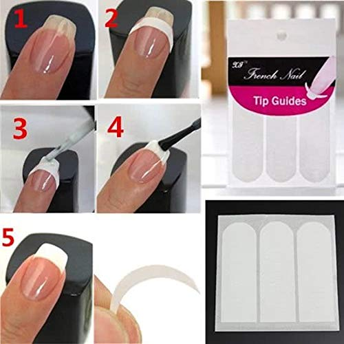 Nagelsticker/French Manicure - 51 Stickers