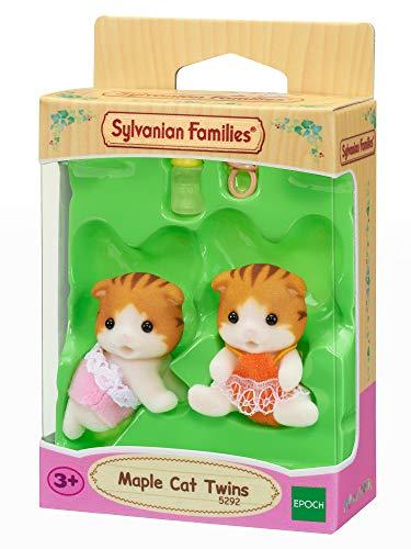 Sylvanian Families 5292 Ahornkatzen Zwillinge - Figuren für Puppenhaus
