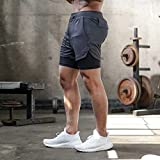 Zoom IMG-2 jianye pantaloncini sportivi uomo estate