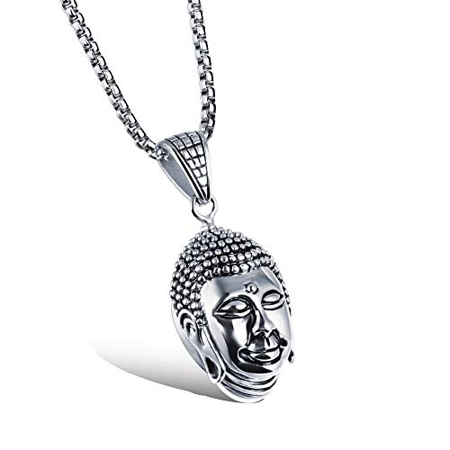 WHX Collar de plata de ley para mujer, Dominante a bully de