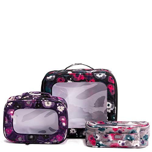 Lug Bento Box 3-Piece Container Set, Watercolor, One Size