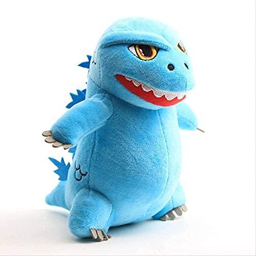 2 Stück Q Version Godzilla Puppe Dinosaurier kleines Monster 20 cm Plüschtier Halloween Kinder Geburtstagsgeschenk Junge Mädchen Puppe