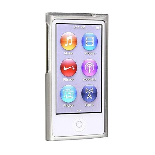 iPod Nano 7, Nano 8 Crystal Clear Plastic Snap-On Hard Shell Case Cover