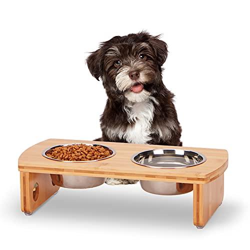 JoyoPaw Raised Pet Bowls