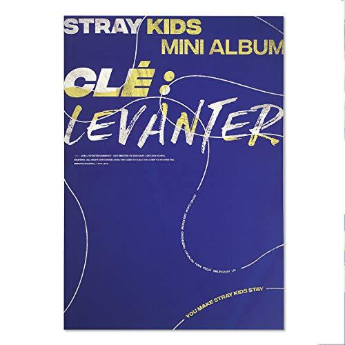 STRAY KIDS Mini Album - Clé : Levanter [ LEVANTER ver. ] CD + Photobook + QR Photocards + FREE GIFT