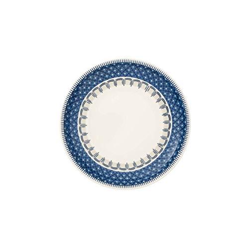Villeroy & Boch Casale Blu Assiette à pain, 16 cm, Porcelaine Premium, Blanc/Bleu