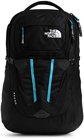The North Face Women s Recon Backpack TNF Black Heather Ethereal Blue One Size product image