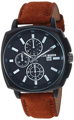 Steve Madden Fashion Watch (Model: SMW247BK-BR)