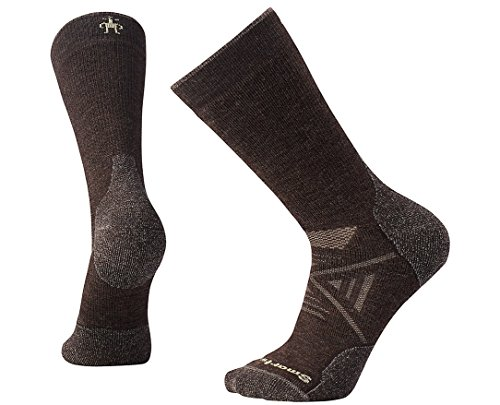 Smartwool PhD Outdoor Medium Crew Socks Mixte Adulte, Chestnut, FR : L (Taille Fabricant : L)