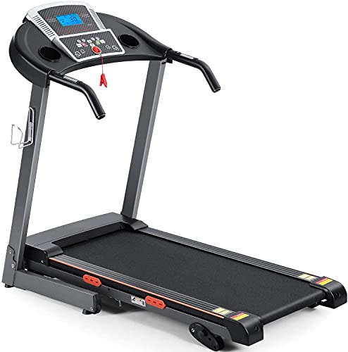 Treadmill Foldable Treadmill for Home Electric Treadmill Workout Running Machine 12-Level Auto Incline Treadmill with LCD Monitor for Home & Office & Gym