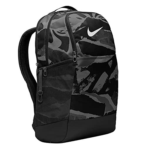 Nike Brasilia M Training-Backpack Mochila deportiva camuflaje negro CU9650-010