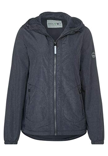 Cecil Damen 201428 TOS Windbreaker Übergangsjacke, deep Blue, Medium