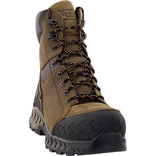 Timberland PRO Work Summit 8' Composite Safety Toe Waterproof Distressed Brown 9.5 E - Wide