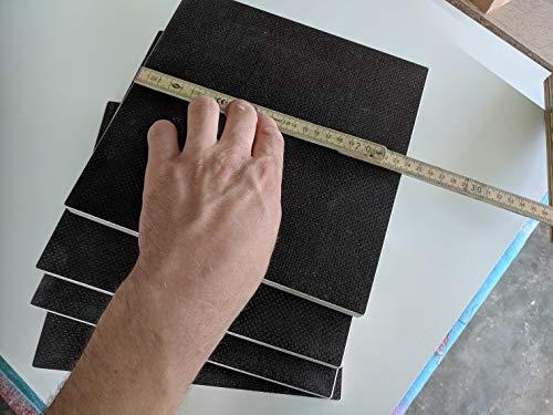 Schweer-begeistert Unterlegplatten ca. 24 cm x 24 cm Siebdruck 15 mm Wohnwagen Wohnmobil Stützplatten Stütze Camping