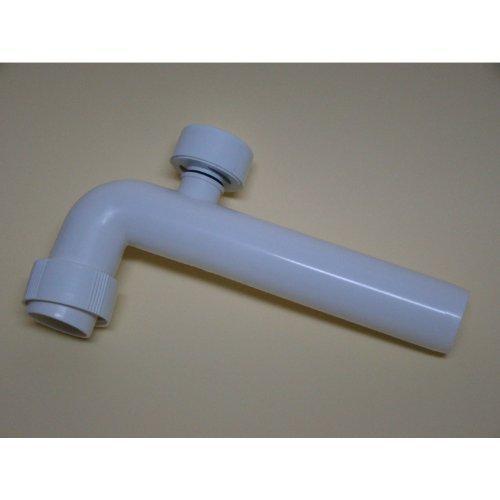 Sifon Kunststoff - Abgangsbogen mit Rohrbelüfter DN 50 - 90 Grad