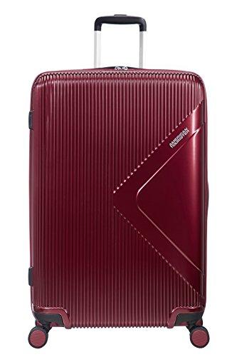 American Tourister Modern Dream - Spinner L Expandible Maleta, 77.5 cm, 114 L, Rojo (Wine Red)