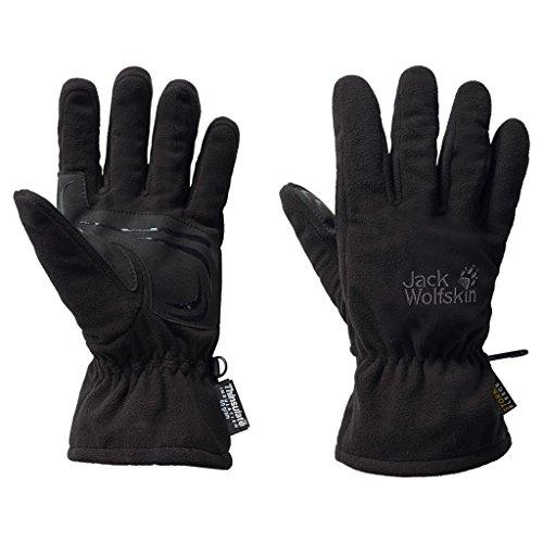 Jack Wolfskin Handschuh Stormlock Blizzard, Unisex, schwarz, Large