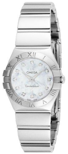 [オメガ] 腕時計 コンステレーション ホワイトパール文字盤 ダイヤ 100M防水 123.10.24.60.55.002 並行輸入品 シルバー