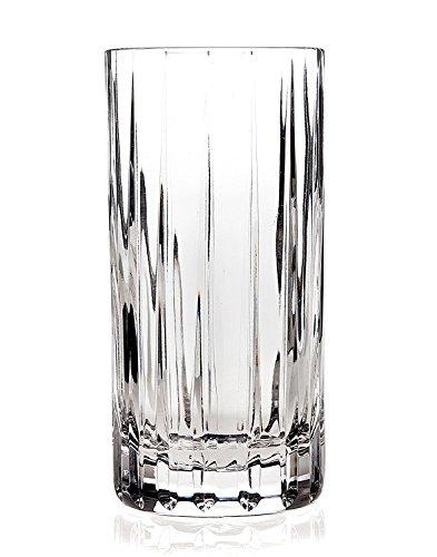Godinger Highball Glasses,Tall Beverage Cups - Set of 4