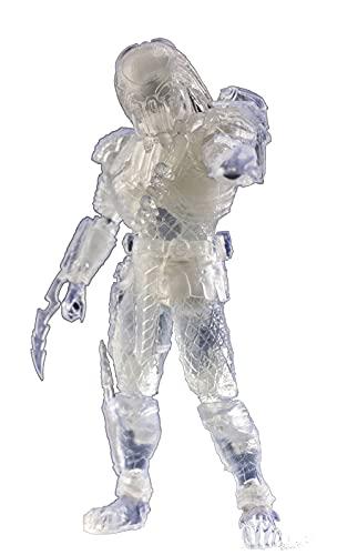 Hiya Toys Alien vs. Predator: Invisible Celtic Predator 1:18 Scale Action Figure, Multicolor