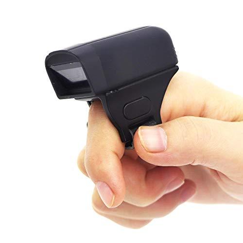 XALO Scanner De Code À Barres, Lecteur De Codes À Barres 2D Micro, Un Scanner Bluetooth sans Fil Portable Compatible avec Android/iOS/Windows, pour Le Supermarché D'entrepôt