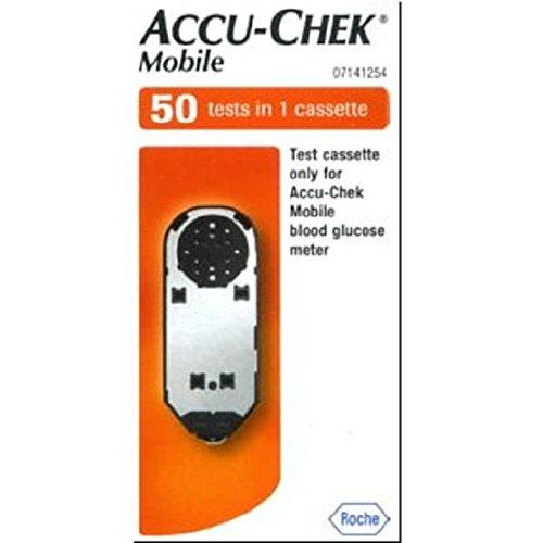 Accu-Chek 512767 Teststreifen Mobile Testkassetten (50-er pack)