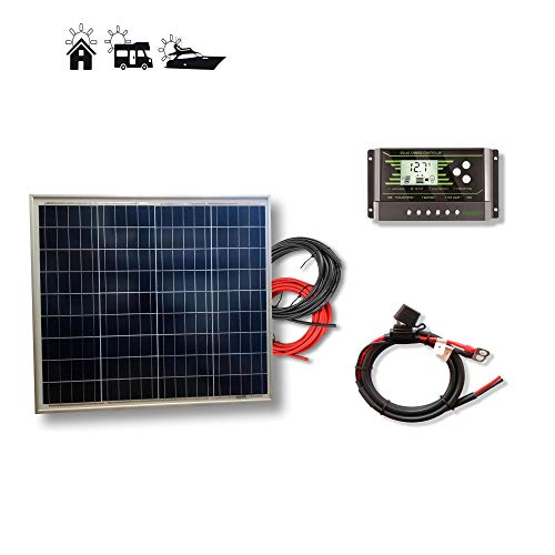 VIASOLAR Kit 50W Pro 12V Panel Solar
