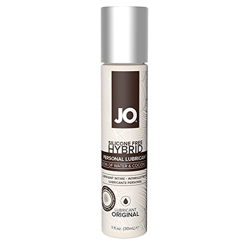 System JO Silicone Free Hybrid Original Lubricant with Coconut, 1 Fluid Ounce