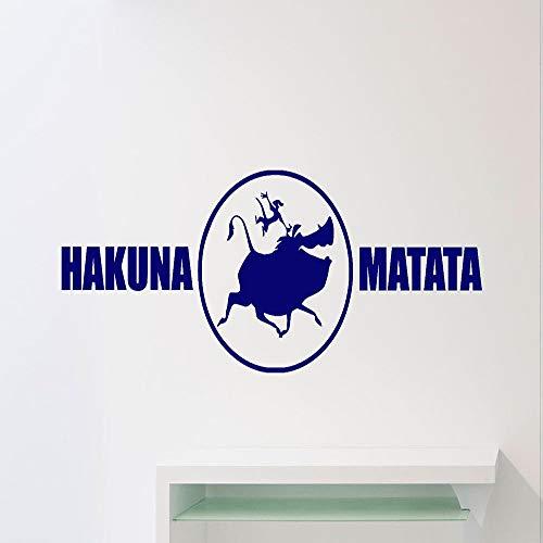Geiqianjiumai leeuw cartoon muursticker vinyl sticker huis slaapkamer kleuterschool jongen baby kind kamerdecoratie wandtattoo