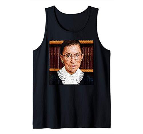 RUTH BADER GINSBURG RBG icono feminista Supreme Court Meme Camiseta sin Mangas
