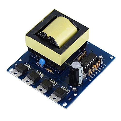 Módulo Inversor, 500W DC 12V / 24V a AC 18V 0-220V-380V Módulo Booster Board Inverter Boost, Placa para los amantes de Electrónica, producción DIY, mantenimiento