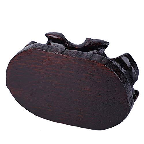 KEYREN Soporte de Madera de la Base del Bonsai de la Bandeja de Madera del Pedestal de la Tetera Pedestal de Madera sólida