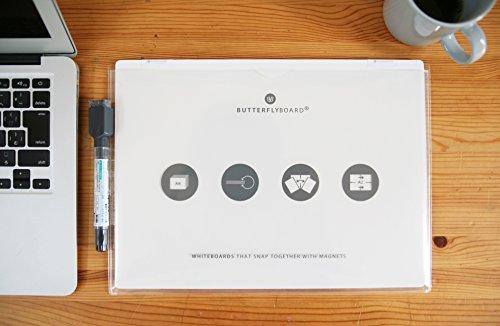 バタフライボード A4 / デジタル時代のフリースタイルホワイトボード
