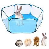 Tenda a gabbia pieghevole per animali di piccole dimensioni 47.2 ', recinto per animali domestici...