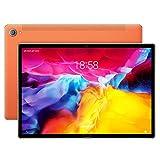 ELLENS Tableta de 10.8 Pulgadas, Android Tablet PC con desbloqueo Facial, WiFi 5G ultrarrápido, ROM de 3GB RAM 32GB, Octa Core (Verde/Naranja/Gris)