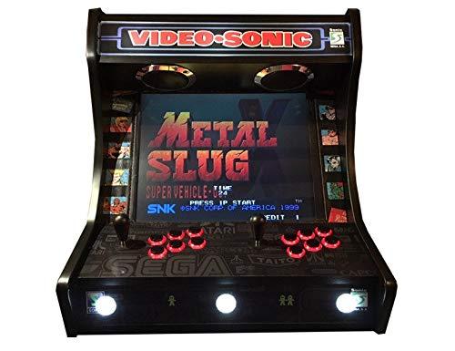 Arcade BARTOP VIDEOCONSOLA Retro máquina recreativa -Tamaño Real- Diseño- VIDEOSONIC