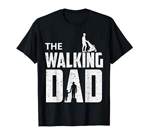 The Walking Dad - Festa del papà - Regalo di Compleanno Maglietta