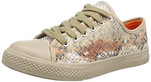 Blink Damen BchillinL Sneaker, Mehrfarbig (47 Multi orange), 39