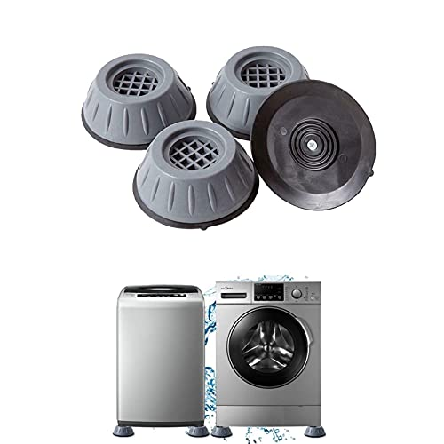 vvovvug Anti Vibration Washing Machine Support, Shock and Noise Cancelling Washing Machine Support 4pcs, Washing Machine Foot Pads for Top Load
