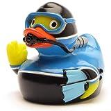 Duckshop I Badeente Taucher I Quietscheentchen I L: 8 cm