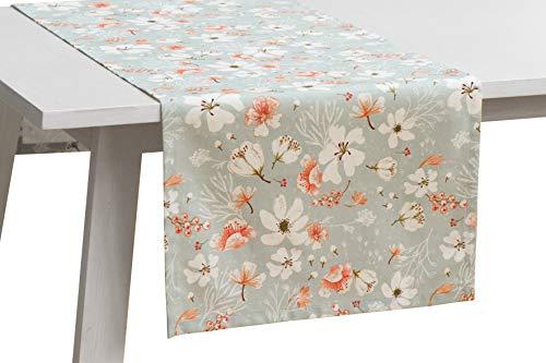 Pichler bloemenweide tafelkleed 90x90 cm bont