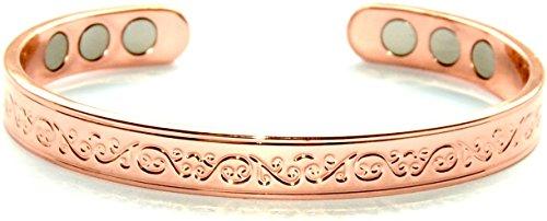 ORIGINE Bracelet de cuivre magnétique, élégant avec Design distinctif SCB667