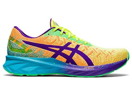 ASICS Men's Dynablast Running Shoes, 8.5M, Orange POP/Royal AZEL