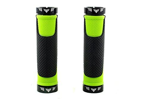 El Gallo Components Comfort - Puños para Bicicleta, Color Verde