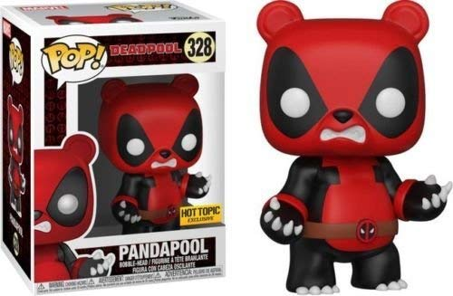 Funko Pop! Figura de Vinilo Exclusiva Deadpool Pandapool # 328