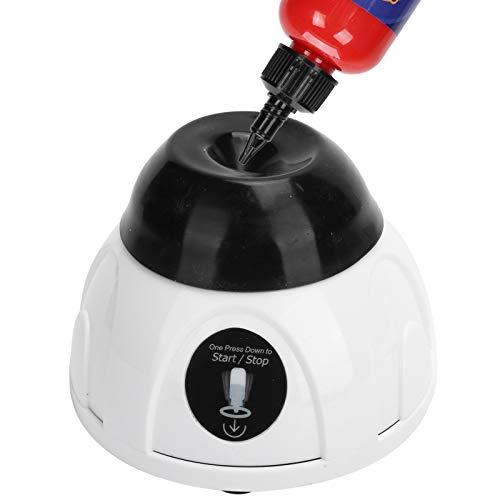 Flüssiger Vortex-Mischer für Nagelstudios, Maler, Tätowierer und Bastler, 4000 U/min elektrische Nagellack-Tätowierfarbe Pigment Shaking Liquid Shaker-Maschine, Mehrzweck-Mini-Vortex-Mischer(EU)