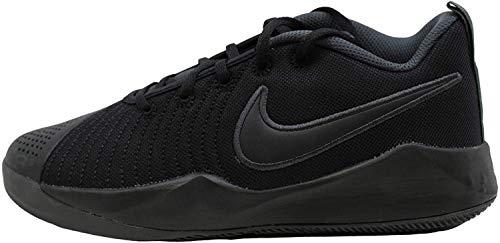 Nike Team Hustle Quick 2 (GS) Basketball Shoe, Black Black Anthracite Volt, 40 EU