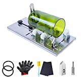 Glass Bottle Cutter Kit, Stainless Steel DIY Machine for Cutting Round, Oval Bottles