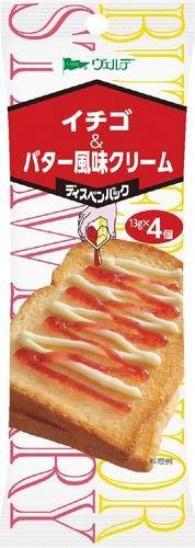 アヲハタ ヴェルデ イチゴ&バター風味クリーム 13g×4×12袋入